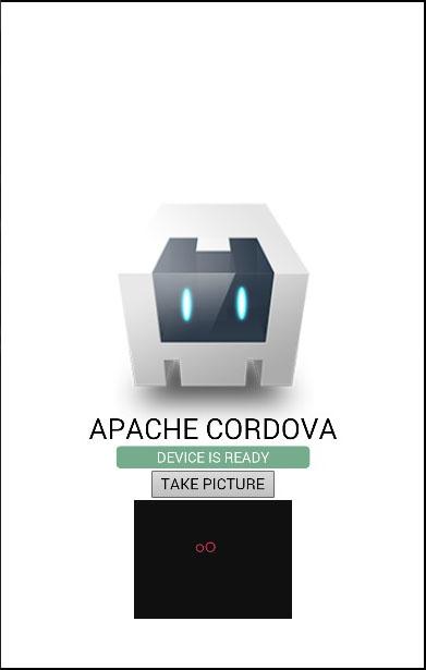 Cordova Camera Display Image
