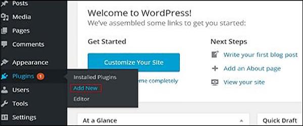 wordpress教程之 WordPress 安装插件