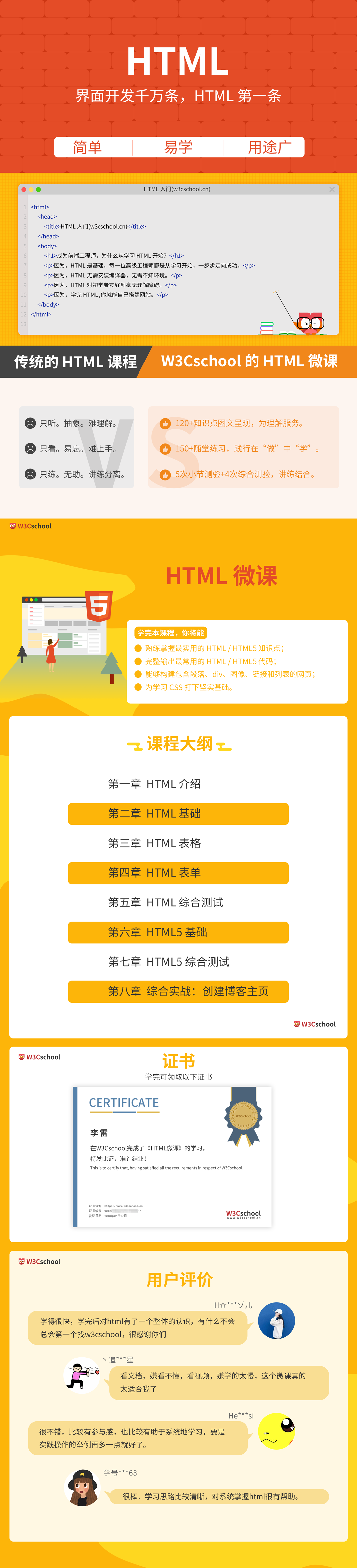 HTML微课课程介绍3