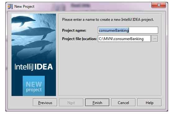 New Project in IntelliJ IDEA, step 5.