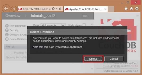 删除数据库3