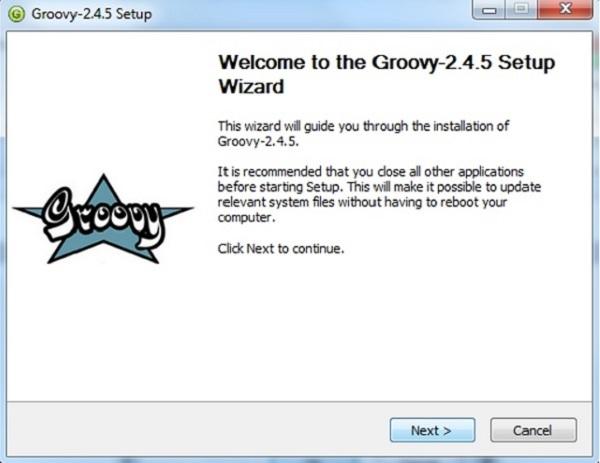 Groovy的2.4.5安装