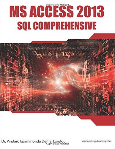 的MS Access 2013 SQL综合