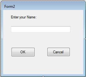 VB.Net模式窗体示例