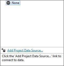 添加项目数据源链接