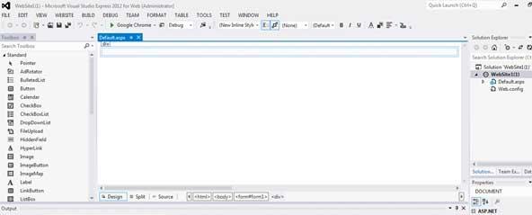 VS Web开发IDE