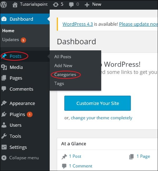 wordpress教程之 WordPress 编辑类别