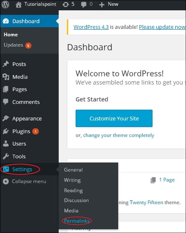 wordpress教程之 WordPress 固定链接设置